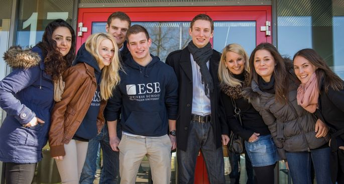Studierende der ESB Business School